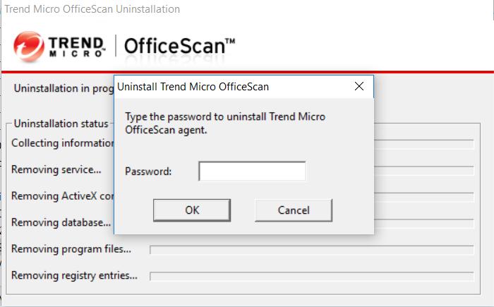 Uninstall TrendMicro khi quên mật khẩu – Nguyen Manh Dung