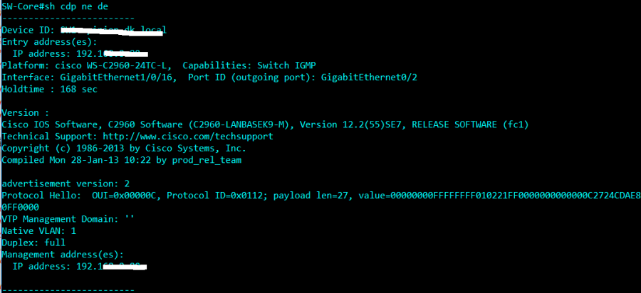 Các lệnh troubleshoot Switch Cisco – Nguyen Manh Dung